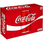 Coca Cola Cola, Original Formula - 24 pack, 12 fl oz cans