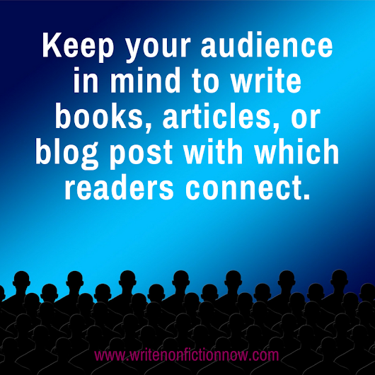 Finding and Writing for Your (Real) Audience - Write Nonfiction NOW!