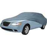 Classic Accessories Overdrive Polypro 1 Car Storage Cover, Gray