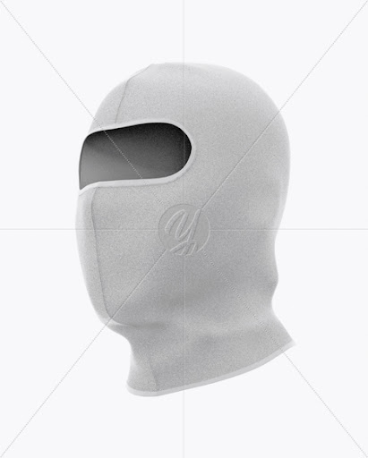 Download Download Balaclava Mockup - Half Side View (Hero Shot) PSD