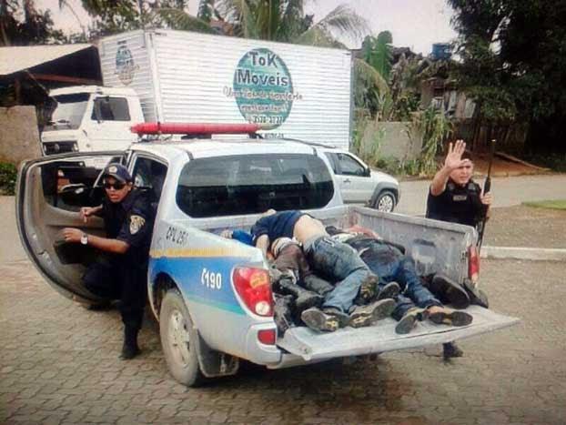 Um grupo de bandidos fortemente armados invadiram na última segunda-feira o quartel da Polícia Militar em Rondônia