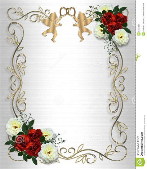 Wedding Invitation Borders And Frames Free Download   Joy