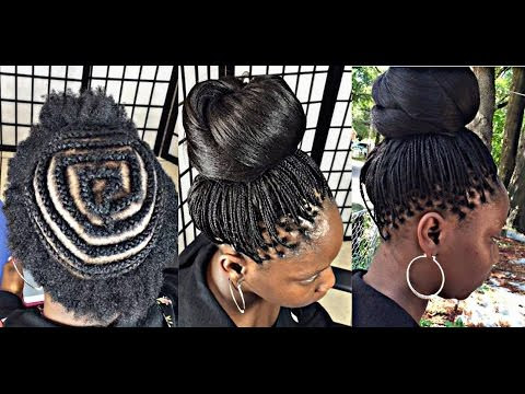 CROCHET MICRO BRAID with kanekalon hair [Video] - Black Hair Information Community