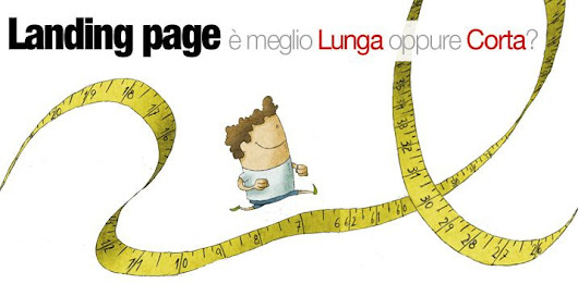 La differenza tra Landing page lunga o corta - Squeeze vs Sale page - Landing Page Efficace