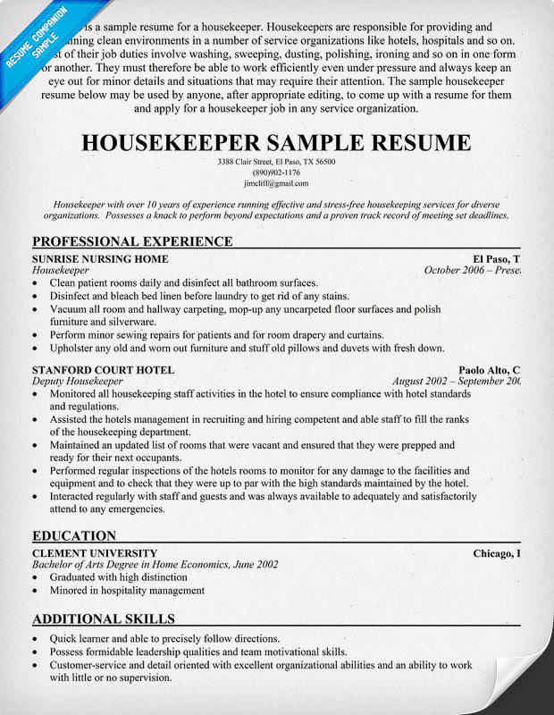 contoh resume letter