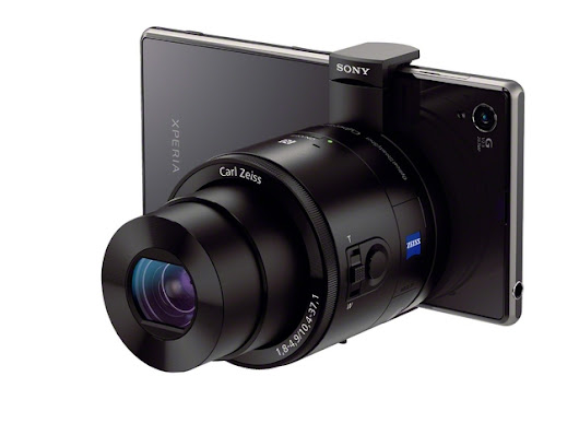 Sony Announces QX Series Lens Cameras That Attach to Smartphones