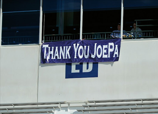 Remembering Joe Paterno Two Years Later