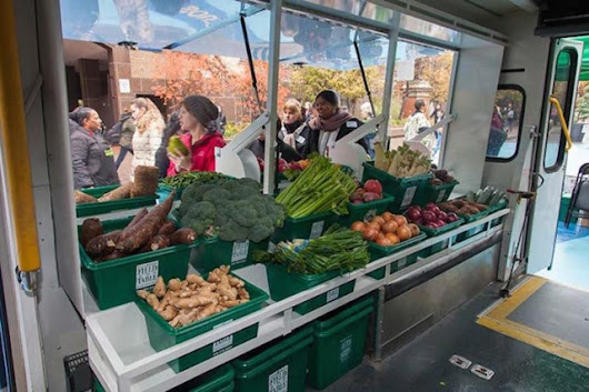 Converted Buses Bring Good Nutrition To Food Deserts - Eat Drink Better