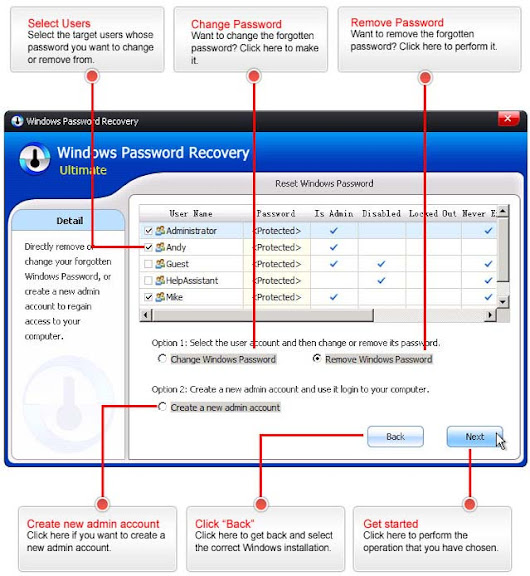 Windows Password Recovery Tool download - PC River