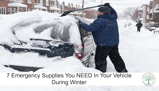 Emergency Supplies to Keep In Your Vehicle in Winter