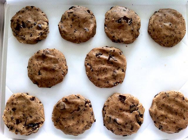Cookies Flattened