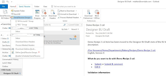 Sitecore Workflow, RSS feeds and email subsciption out of the box