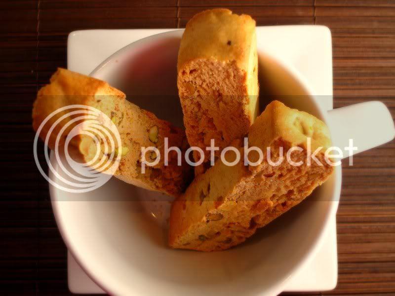 Honey Pistachio Biscotti