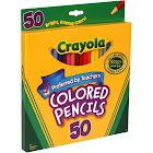 Crayola Colored Pencils - 50 count