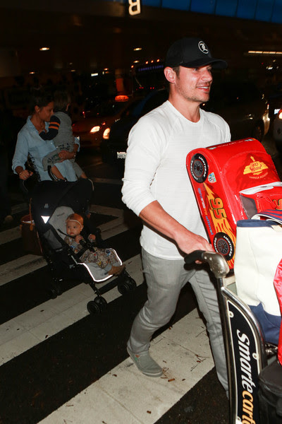 Nick and Vanessa Lachey Are Seen at LAX