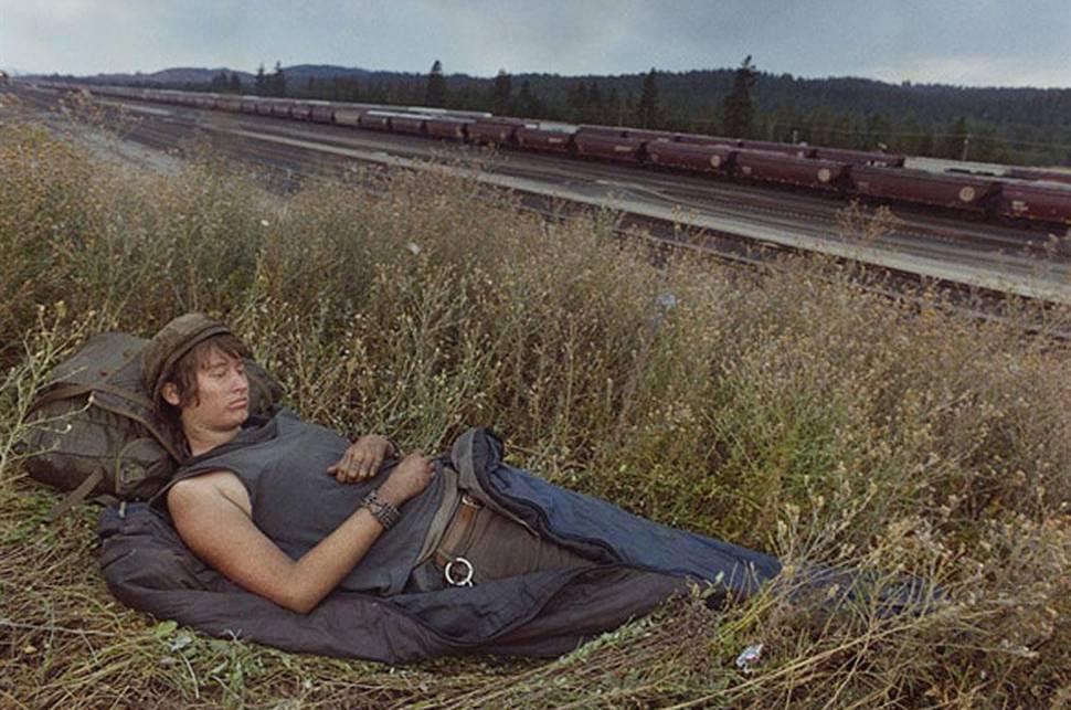Mike Brodie: vivir de tren en tren, sin destino