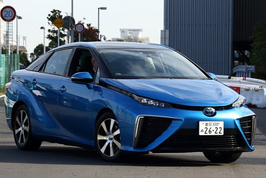 Toyota Already Expanding Output Plans for Mirai Hydrogen Car