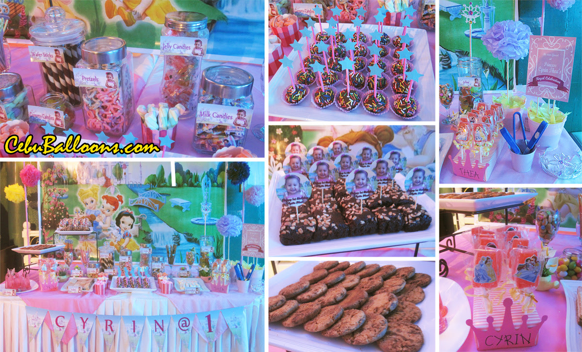 Dessert Buffet Decors Cake Pastries Candies Cebu Balloons