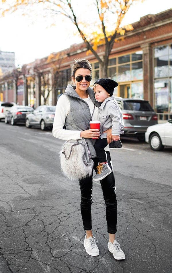 9 extremely stylish mom and child duos