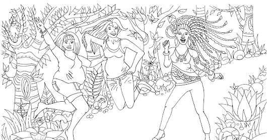 Midwife advises pregnant women to use a colouring book to take their minds off birth pain