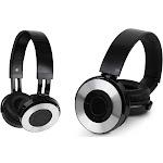 Aduro Amplify Metallic Wireless Stereo Headphones Black/Silver (AD-MHJT-01)