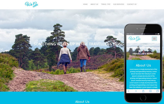We go travel Category Flat Bootstrap Responsive Web Template