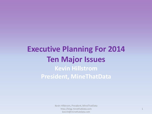 Executive Planning For 2014: Ten Major Issues