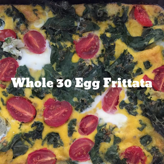 Whole 30 Egg Frittata Recipe - Fit and Awesome