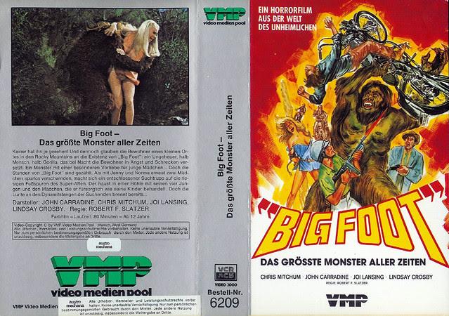 Bigfoot (VHS Box Art)
