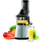 Kuvings Whole Slow Juicer without Smoothie Strainer - (C7000S) Silver