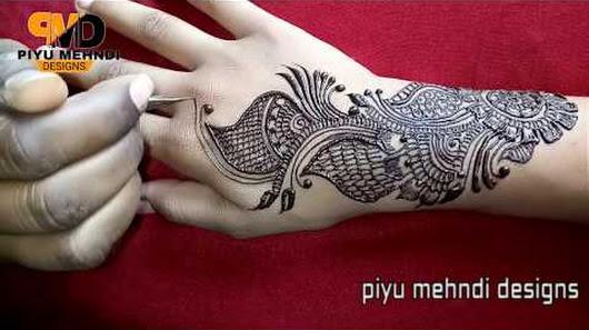 Mehndi Art Simple : Simple arabic mehndi art deigns for hands new latest