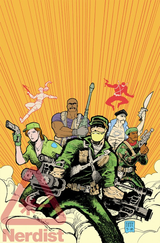 Nerdist shares new IDW Publishing G.I.Joe: Sierra Muerte Exclusive Preview