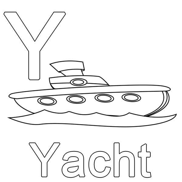 gratis ausmalbilder yacht  ausmalbilder