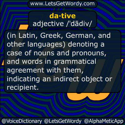dative 11/08/2015 GFX Definition