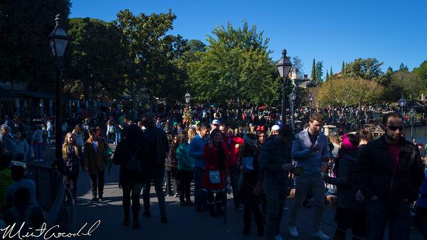 Disneyland Resort, Disneyland, New Orleans Square, Christmas Time, Christmas, Time, Busy