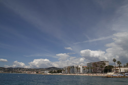 Beach at Juan Le Pins 3