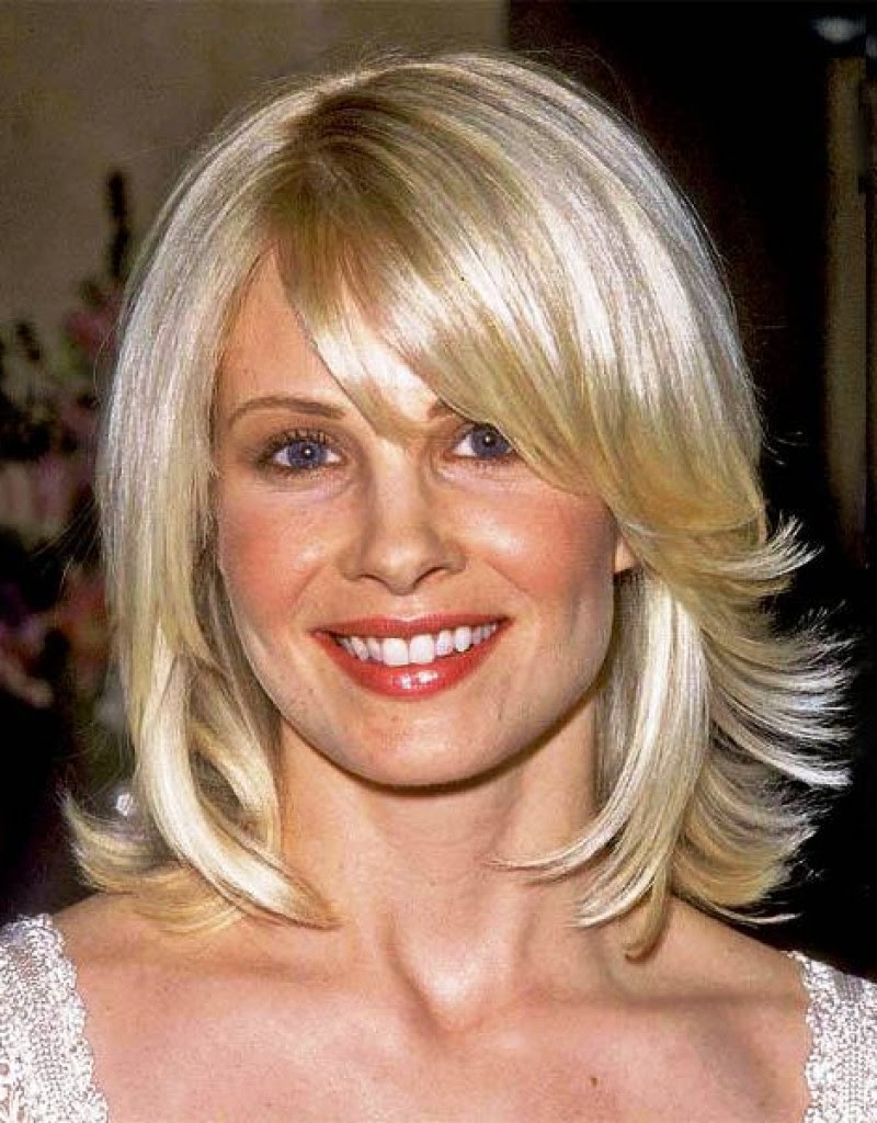 Layered Short Hairstyles For Long Faces Over 50 39
