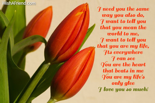 I Need You The Most In Life True Love Poem