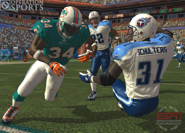 ESPN NFL 2K5 Screenshot 1 for Xbox  Operation Sports