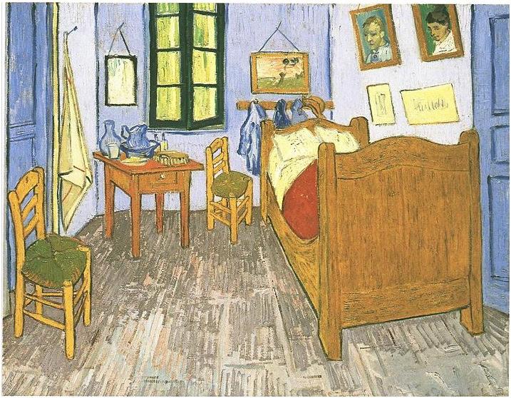 Resultado de imagen para dormitorio en arles