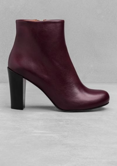 & Other Stories Heeled Ankle Boots