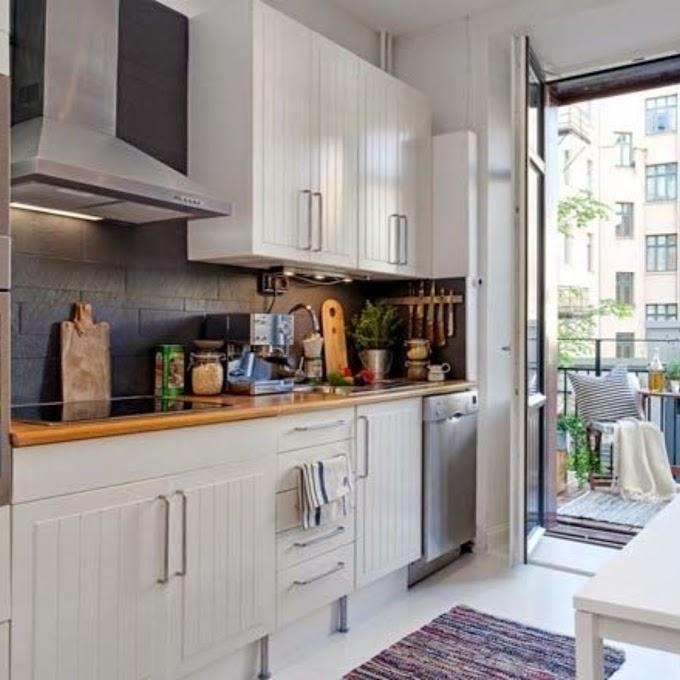 Menata Dapur Kecil Agar Rapi | Ide Rumah Minimalis