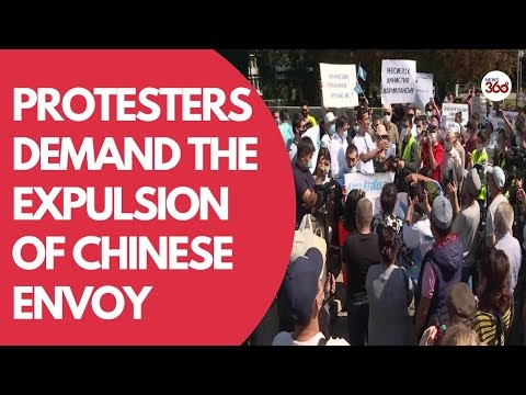 Kazakh Protesters Demand Expulsion Of Chinese Envoy & Release Of Politic...