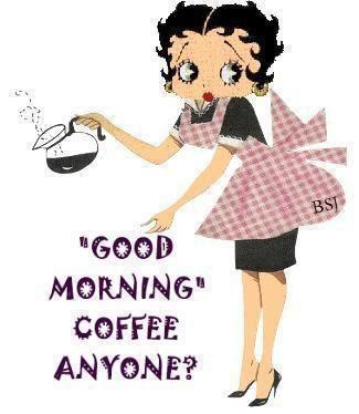 Betty Boop morning.