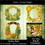 Clusters Frame - Honey Bee 02