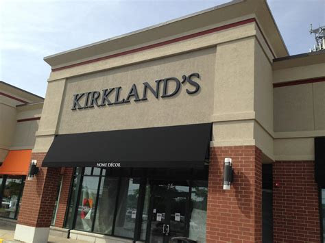 home decor retailer kirklands planning  store