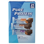 Pure Protein Bars, Variety Pack, 1.76 oz, 21-Count