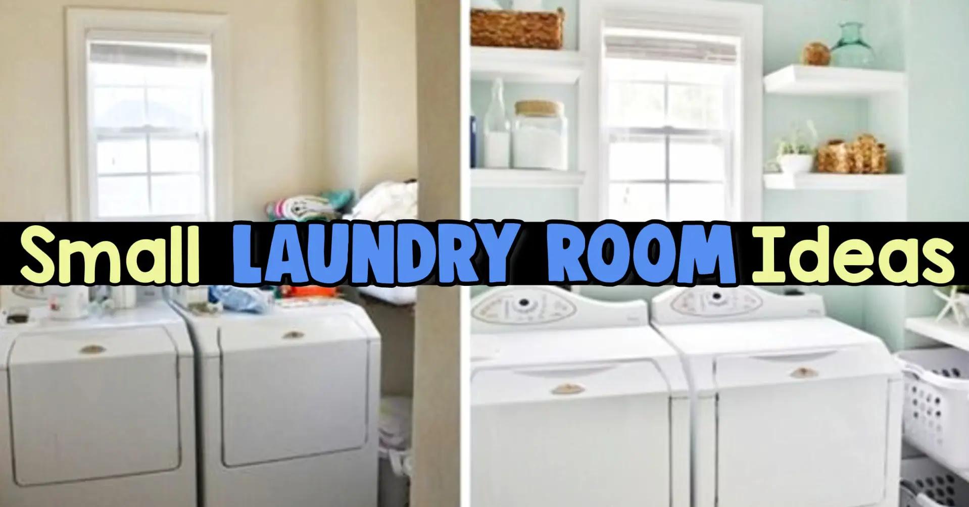 Small Laundry Room Ideas - Space Saving Ideas for Tiny Laundry