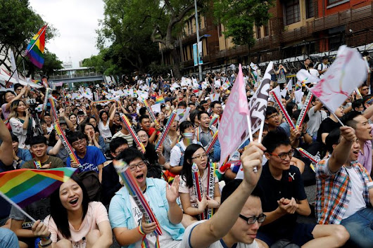 Gay rights in China get fillip from Taiwan same-sex marriage ruling