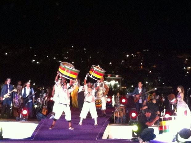 Banda Olodum também participou da festa (Foto: Lillo Vieira/Arquivo pessoal)